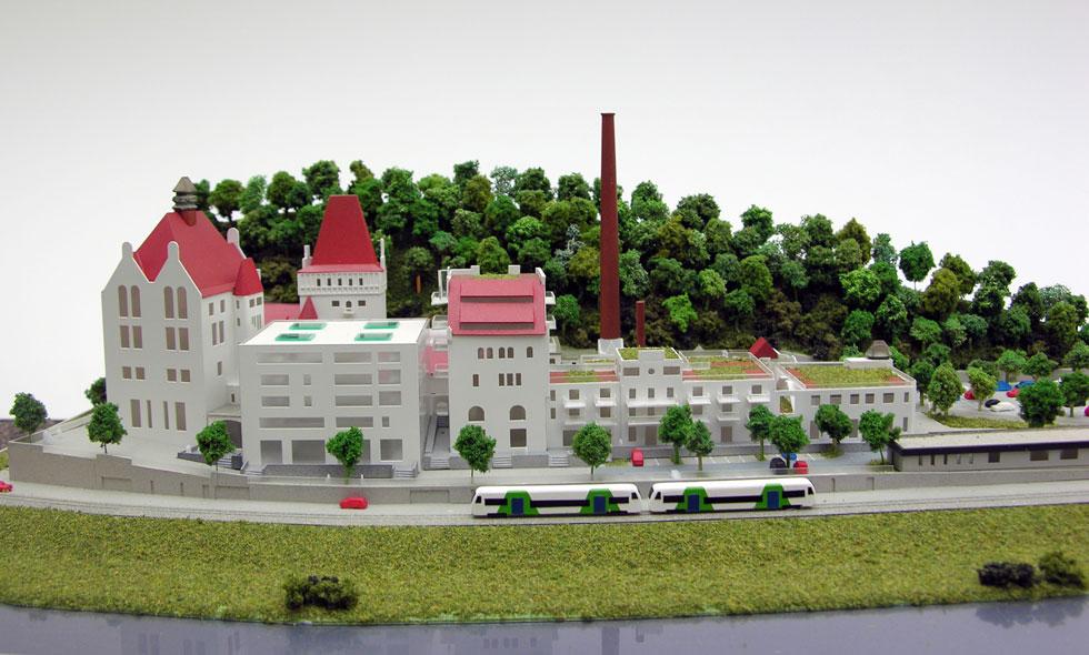 Common rinck modellbau umnutzung ehemalige riegeler for Produktdesign freiburg